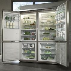 Best Large Capacity Refrigerator | Miele Grand Froid 4-door refrigerator | Appliancist