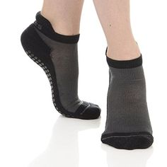 Great Soles Womens Yoga Pilates Barre Performance Sport Grip Sock SmallMedium Black * Continue to the product at the image link.