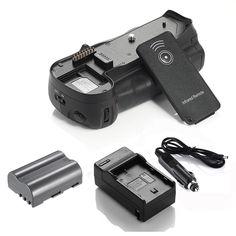 Multi Power MB-D80 Battery Grip For Nikon D80 D90 + EN-EL3E Battery + Charger #DBK