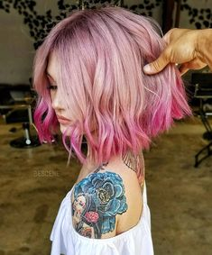 18 Gorgeous Short Ombre Hairstyles, Are you looking for Short Ombre Hairstyles? Here are 18 Gorgeous Short Ombre Hairstyles for you to get inspiration from them. Cool Short Hairstyles, Winter Hairstyles, Hairstyles Haircuts, Short Haircuts, Amazing Hairstyles, Casual Hairstyles, Modern Hairstyles, Braided Hairstyles, Wedding Hairstyles