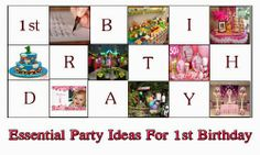 Birthday Present Ideas: Essential Party Ideas For 1st Birthday