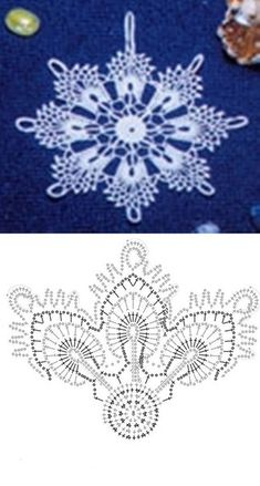 Login - Her Crochet Crochet Snowflake Pattern, Crochet Stars, Crochet Snowflakes, Thread Crochet, Crochet Crafts, Crochet Flowers, Crochet Projects, Crochet Christmas Ornaments, Christmas Crochet Patterns
