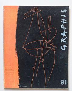 Graphis Magazine cover: by Marino Marini