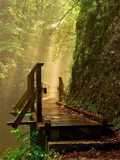 A Shower of Light...at Kamacnik Canyon, Croatia