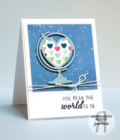 World to Me by jeanmanis - Cards and Paper Crafts at Splitcoaststampers