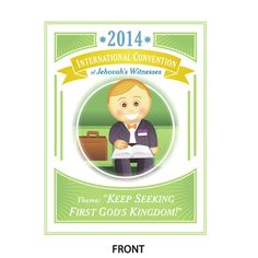 Set of 50 2014 International Convention Greeting Cards