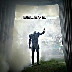 Believe!  Carolina Panthers are going to win the Super Bowl <3 Maybe next year!!!