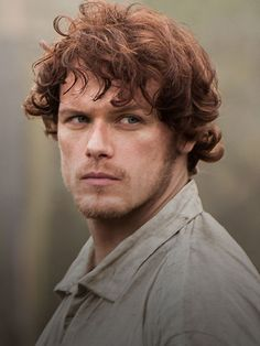 Sam Heughan as Jamie!