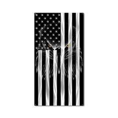Metal American Flag, American Flag Decor, Eagle American, American Soldiers, Metal Wall Decor, Metal Wall Art, Our National Bird, Metal Walls