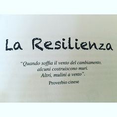 """""""La Resilienza"""" #instamood #bepositive Karma, Jolie Phrase, Words Quotes, Sayings, Motivational Quotes, Inspirational Quotes, Italian Quotes, Magic Words, Note To Self"""