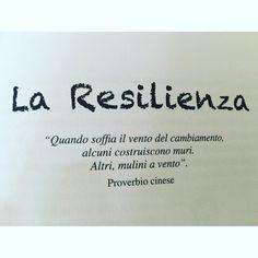 """La Resilienza"" #instamood #bepositive"