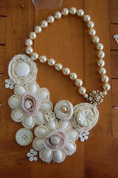 The Fab Miss B: DIY Statement Necklace