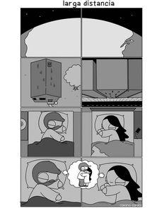 New memes de amor a distancia ideas Cute Couple Comics, Couples Comics, Comics Love, Couple Cartoon, Funny Couples, Cute Comics, Relationship Comics, Funny Relationship Memes, Cute Relationships