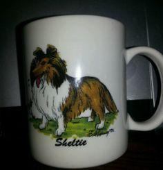 Sheltie Shetland Sheepdog Coffee Tea Mug Krazy K 9 Designs McCartney