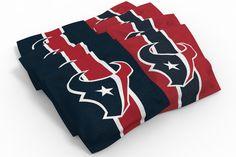 Houston Texans Cornhole Bags - Stripe
