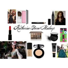 """Katherine Pierce Makeup"" by xoxowhisperlies on Polyvore"
