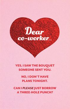 ValentineS Day Cards That Say What They Mean