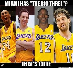 lakers starting five 2012 /2013