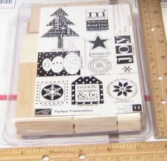 Stampin' Up! New Set, Stampin Up, Stamps, Presentation, Holiday, Crafts, Ebay, Things To Sell, Seals