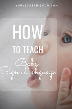 Ever wondered when to start teaching baby sign language and why? Can you teach it to infants or toddlers? Learn signs like potty, more, food, and thank you.