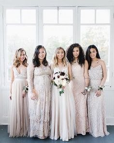 A vision of mix-n-match beauties ( rg: @jacquelineyvone by @lidiacodrean | link in bio to shop) #BHLDNbride