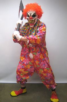 Killer-Clown costume