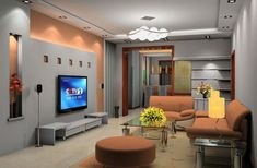 Living Room Theaters, Living Room Tv, Small Living Rooms, Tv Lounge Design, Tv Wall Design, Interior Design Living Room, Living Room Designs, Latest Furniture Designs, Design Your Dream House