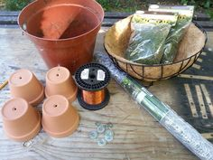 Materials to Make A Topiary Turtle