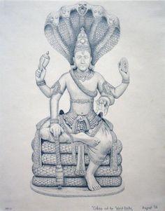 Vishnu by turance.deviantart.com on @deviantART