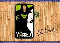 Wicked Broadway The Wizard Of Oz iPhone 4/4S/5, Samsung S4/S3/S2 case cover | sedoyoseneng - Accessories on ArtFire