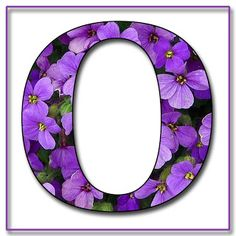 """Free Scrapbook Alphabet Letters """"Purple Flowers"""" in JPG & PNG For this project I used my own alphabet """"A,"""" a Photoshope font, and a backg. Printable Alphabet Letters, Alphabet And Numbers, Floral Font, Felt Crafts Patterns, Flower Alphabet, Letter Set, All Things Purple, Shades Of Purple, Purple Flowers"""