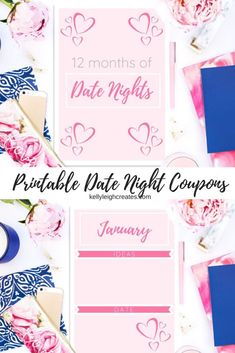 These printable date night coupons provide endless options for dates all year long. Happy Valentine Day HAPPY VALENTINE DAY | IN.PINTEREST.COM WALLPAPER #EDUCRATSWEB