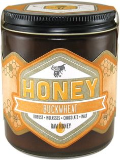 Buckwheat Raw Honey - Worker B