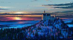 Castle in the Sky by Aenami Digital 2016