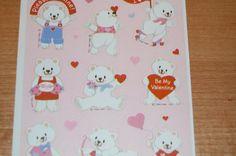 Vintage Valentine's Day Stickers