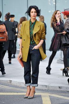 London Fashion Week- Street Style From LFW