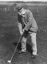 Old Tom Morris - If one man should be mentioned in Golfing history - this must be him !