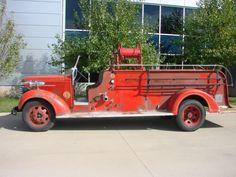 1939 GMC Sealand Fire Truck
