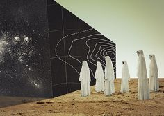 You Are Here, by Julien Pacaud