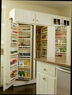 great organization for a deep cabinets.
