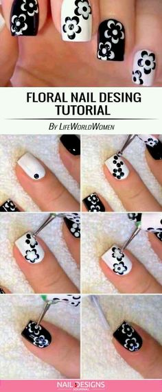 nail art designs easy / nail art designs + nail art + nail art videos + nail art designs for spring + nail art designs easy + nail art designs for winter + nail art diy + nail art designs summer Trendy Nail Art, Cute Nail Art, Nail Art Diy, Beautiful Nail Art, Cute Nails, Diy Gel Nails, Nail Art Ideas, Diy Nails At Home, Gorgeous Nails