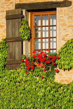 Beautiful window in Taiz� , France