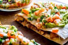 Lightning-Quick Chicken Guacamole Quesadillas