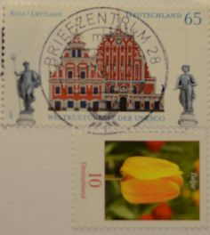 stamp from Germany