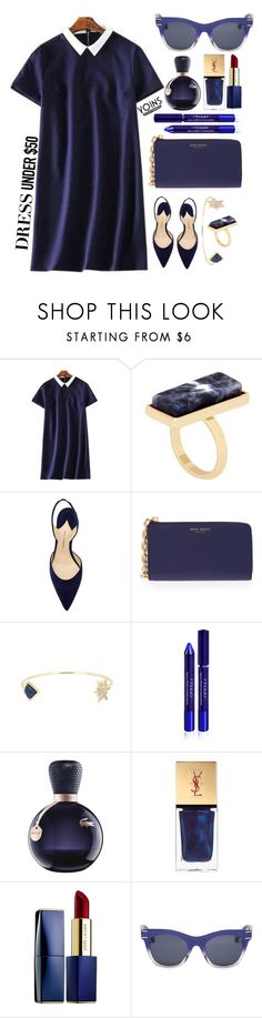 """""""Yoins"""" by simona-altobelli ❤ liked on Polyvore featuring Paul Andrew, Henri Bendel, By Terry, Lacoste, Yves Saint Laurent and Estée Lauder"""