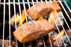 Gluten-Free Grill Out Menu: Simple Citrus Salmon, Quinoa Salad, and Fruit - Little Green Cloth Barbecue Recipes, Gourmet Recipes, Healthy Recipes, Healthy Summer, Summer Salads, Body Ecology Diet, Cilantro Lime Vinaigrette, Salmon Marinade, Cherry Smoothie