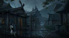 CGTalk - DMP Mini Challenge_005 - November 2014 - Viking Village