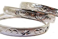 """Bangle Jewelry, Silver Tone Womens Small Bangle Bracelet, Size 4, Qty 1, Approx 2.25"""" Wide Unknown http://www.amazon.com/dp/B00IWZPXO8/ref=cm_sw_r_pi_dp_isBKub17CHVKX"""