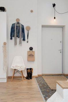 Méchant Design: a swedish flat.