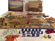 Three Fantastic Games, Courtesy of Kickstarter #Games #argenttheconsortium #bloodrage #boardgames #viticulture #vk